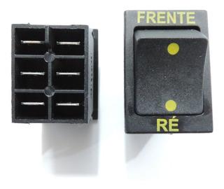 Botão Frente / Ré Original Bandeirantes 12v P/ Quadriciclos