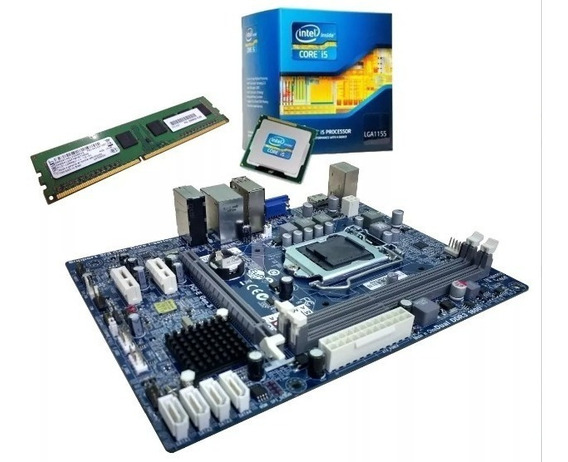Kit Upgrade Placa Mãe/proc. I5 3.40ghz/mem 8gb/fonte 500w