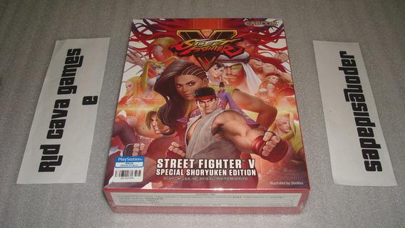 Street Fighter V Special Shoryuken Edition Ps4