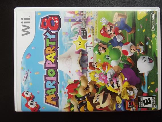 Mario Party 8 ¬ Original Americano C/ Encartes E Manual Orig