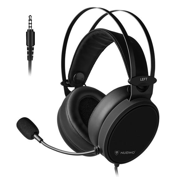 Nubwo N7 3.5mm Gaming Headset Baixo Profundo Fones De Ouvido