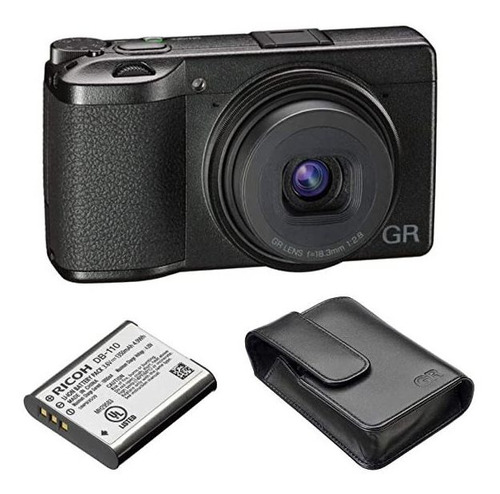 Camara Ricoh Gr Iii 24mp Compact Digital Db-110 Bateria Y G®