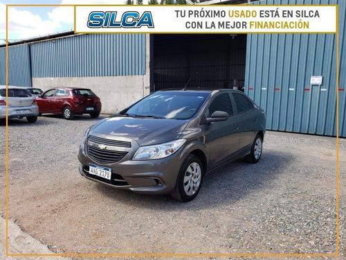 Chevrolet Prisma Lt 1.4 2015 Gris Oscuro 4 Puertas