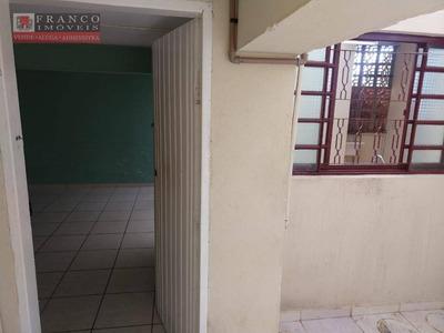 Casa Com 1 Dormitório Para Alugar Por R$ 780/mês - Loteamento Residencial Fazenda São José - Valinhos/sp - Ca0525