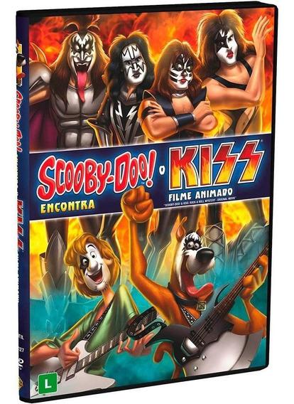 Scooby-doo! Encontra O Kiss - Dvd - Novo