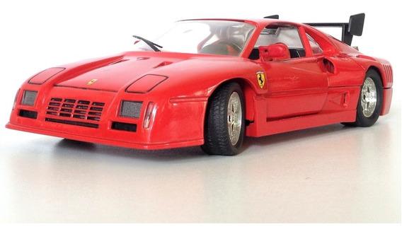 Ferrari Gto Evoluzione Jouef Evolution 1/18 Vermelha