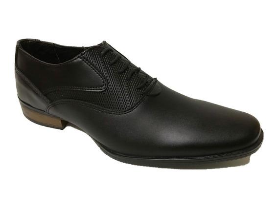 Zapato Casula Hombre Choclo Speedy 114 Sintetico Negro Moda