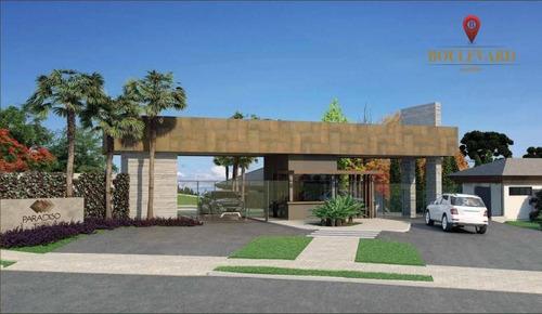 Terreno Em Condomínio Fechado, Residencial Paradiso, À Venda, 760 M² Por R$ 1.077.000- Ecoville - Curitiba/pr - Te0132