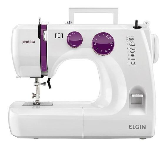 Máquina de costura Elgin Prátika JX-2051 Branco 110V
