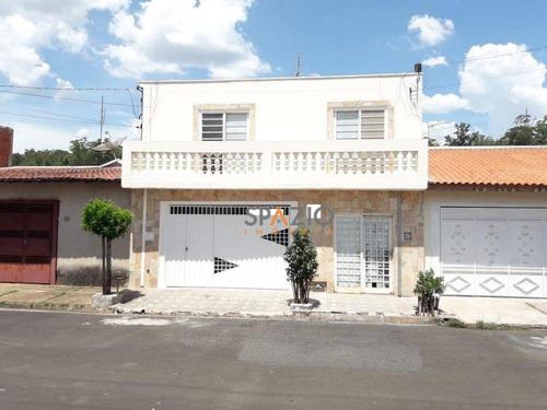 Imagem 1 de 22 de Casa Com 4 Dormitórios À Venda, 198 M² Por R$ 400.000 - Vila Paulista - Rio Claro/sp - Ca0231
