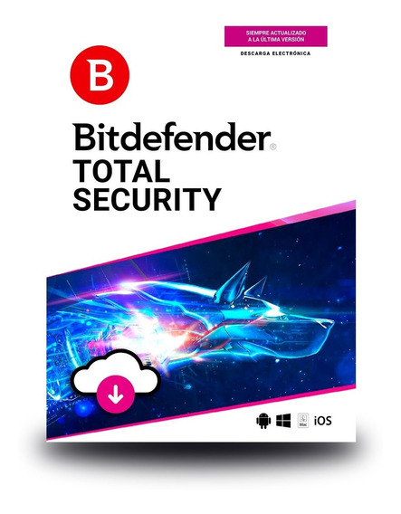 Bitdefender Total Security 10 Usuarios, 1 Año