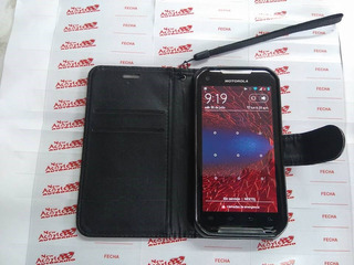Nextel Xt626 Doble Sim Iron Rock Fondo Rojo Ultima Version