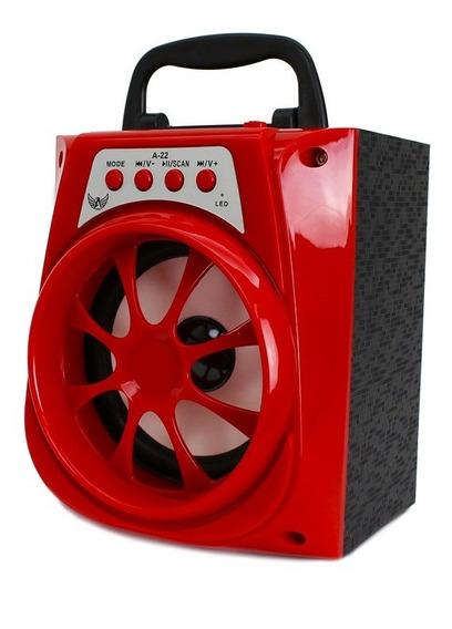 Caixa De Som Bluetooth Altomex A22 Usb Sd Rádio Fm Média