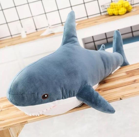 Tubarão Nemo Peixe De Pelúcia Gigante 80 Cm Presente Criança