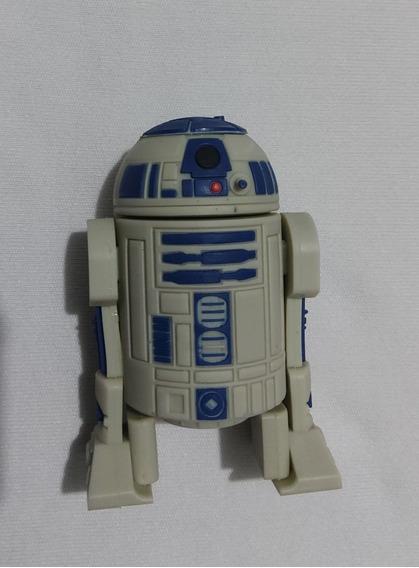 Pen Drive Emborrachado R2-d2 Dróide Star Wars Capac. 8 Gb