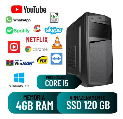 Imagem 1 de 2 de Computador Montado Star Core I5 4gb 120gb Windows 10