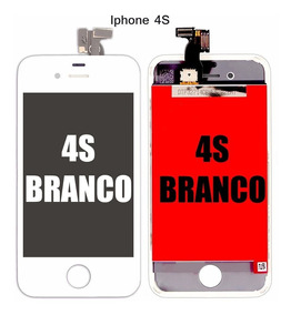Visor Tela Touch Display Lente Lcd iPhone 4s A1387 Branco