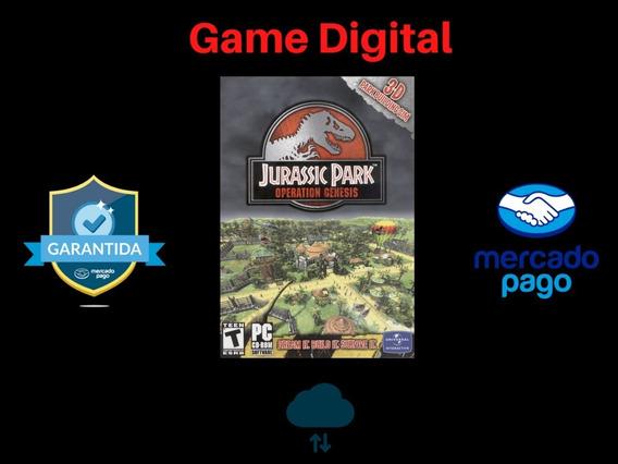 Jurassic Park: Operação Genesis + Brinde Mídia Digital Pc