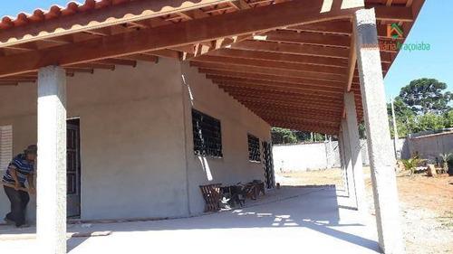 Chácara Com 3 Dormitórios À Venda, 1150 M² Por R$ 470.000,00 - Monte Bianco - Araçoiaba Da Serra/sp - Ch0218