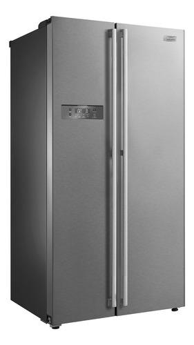 Geladeira/refrigerador 528 Litros 2 Portas Inox Side By Side - Midea - 110v - Md-rs587fga041