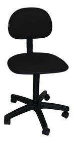 Kit 2 Cadeira De Escritorio Giratoria Preta