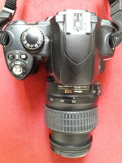 Câmera Nikon D40 Com Lente 18:55mm
