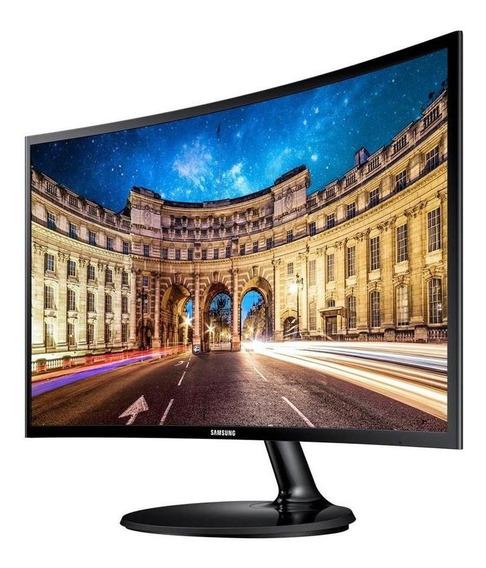Monitor Curvo 27 Led Samsung Gamer 1080p F390 3 Años Gtia
