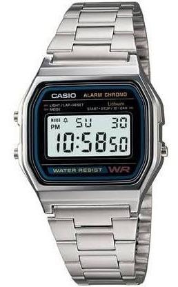Relógio Casio Vintage Digital Unissex *prata*