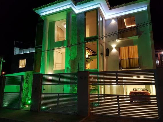 Casa Triplex Com 4 Dormitórios À Venda Por R$ 3.500.000 - Camboinhas - Niterói/rj - Ca0814