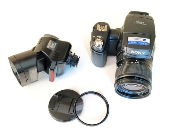 Camera Sony Dsc R1 Carl Zeiss + Flash Hvl-f32x