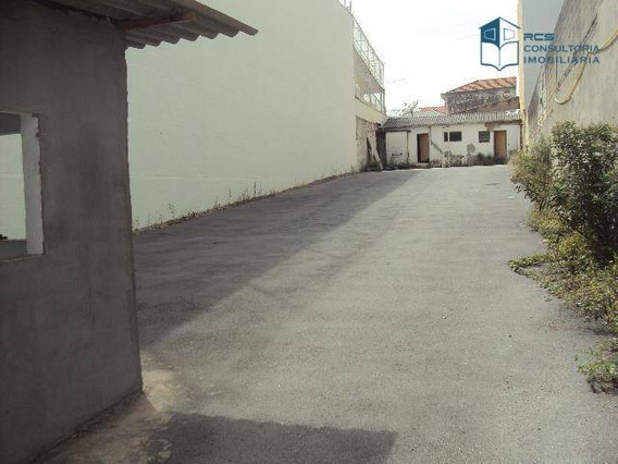 Terreno Para Alugar, 500 M² Por R$ 9.000/mês - Vila Leopoldina - São Paulo/sp - Te0370