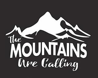 Las Montañas Estan Llamando Etiqueta De Vinilo De Nok | Coc