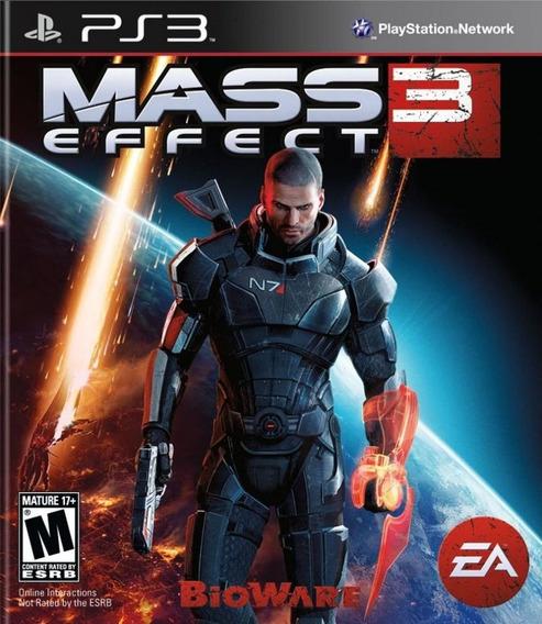 Mass Effect 3 Ps3 Mídia Física Lacrado