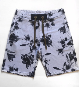 Short Moletom Estampado - Bermuda Top