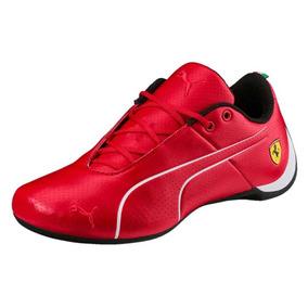 Tênis Couro Puma Scuderia Ferrari Future Cat Ultra Original