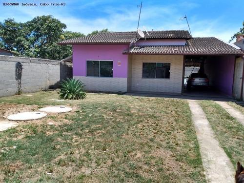 Casa Para Venda Em São Pedro Da Aldeia, Jardim Soledade, 3 Dormitórios, 1 Suíte, 3 Banheiros, 3 Vagas - Ci 191_2-1041456