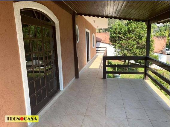 Belíssima Casa Com 04 Dormitórios Para Venda Com 330 M² No Bairro Fazenda Da Ilha Em Embu-guaçu/sp. - Ca4499