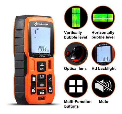Telémetro Láser - Medidor De Distancia Digital 100 M