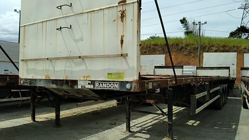 Randon Porta Container Carga Seca - 5884