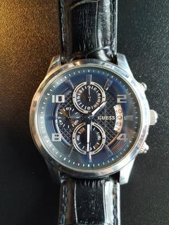 Relógio Guess Original Steel W007661 Completo