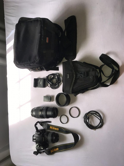Câmera Nikon D60 Completíssima