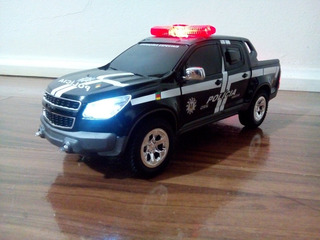 Miniatura S10 Rally Da Polícia Civil Rs