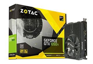 Tarjeta Gráfica Zotac Geforce Gtx 1050 Ti Mini 4gb Gddr5 Dis