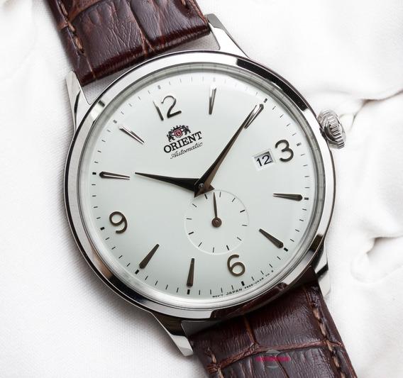 Relógio Orient Bambino Automático Branco Small Seconds