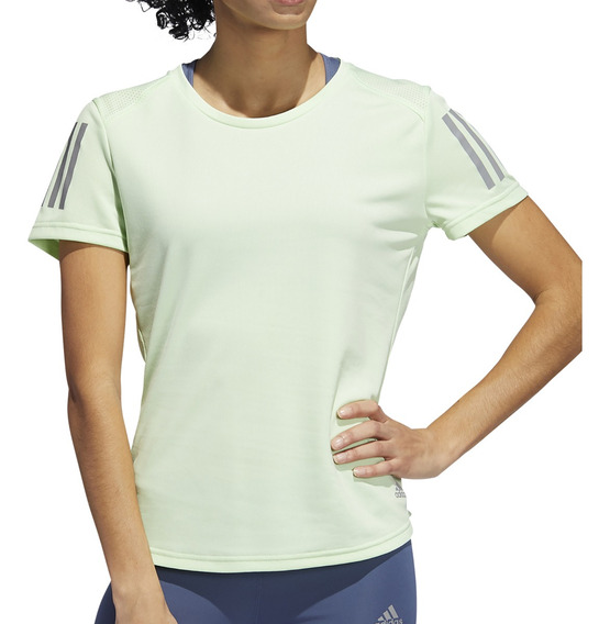 Remera adidas Running Own The Run Mujer Va/gf