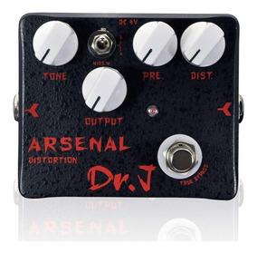 Pedal Guitarra Joyo Dr J Arsenal Distortion D51
