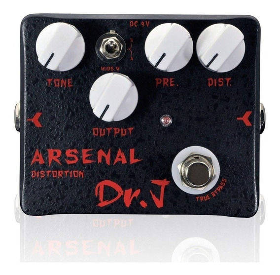 Pedal Guitarra Joyo Dr J Arsenal Distortion D51 + Nf + Garantia