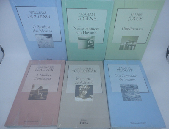 27 Livros Coleção Biblioteca Folha