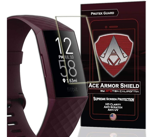 Film Protector P/ Reloj Fitbit Charge 3 / 4 Pack X 8