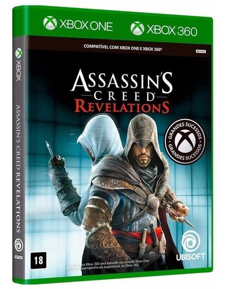 A. C. Revelations - Jogo P/ Xbox 360 Original - Midia Fisica